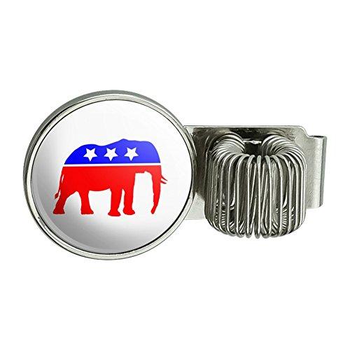 Republikanische Elefant GOP Konservative America Politische Partei Planer Journal Amts Book Diary Notebook Pen Halter Clip Zubehör (Gop-elefant)