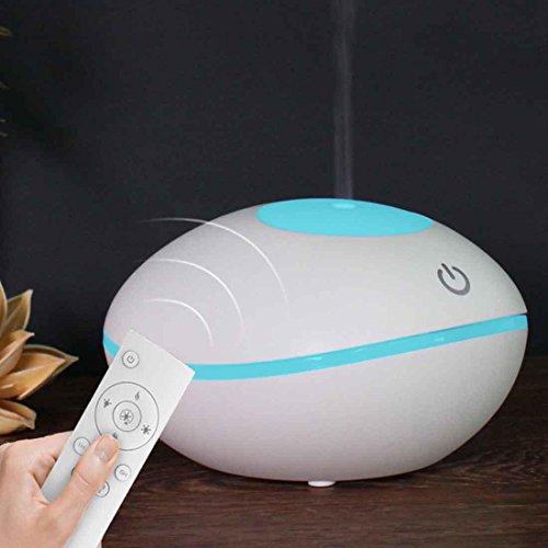 Luftbefeuchter Ultraschall Aroma ätherisches Öl Diffusor intelligente Fernbedienung Aroma Diffusor , white