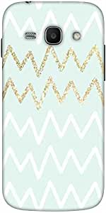 Snoogg Wavular Designer Protective Back Case Cover For Samsung Galaxy Ace 3