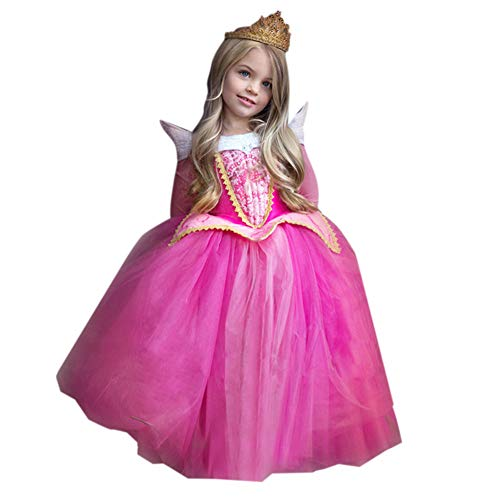 FairOnly Mädchen Halloween-Kleid, Prinzessinnenkleid, Cosplay, Feenkleid,...