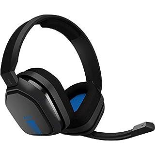 ASTROGamingA10 Headset (kabelgebunden, kompatibel mit PlayStation4, XboxOne, PC, Mac) schwarz/blau