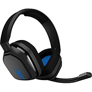 ASTRO Gaming A10 Kopfhörer (kabelgebunden, kompatibel mit PlayStation 4, Xbox One, PC, Mac) schwarz/blau