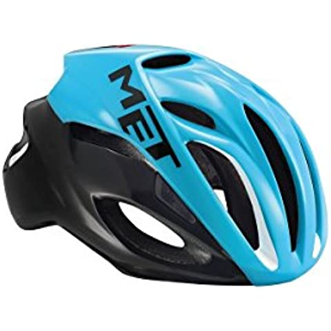 MET Mountainbike Casco de ciclo 'Riavale MOCN' 54-58 cm, turquesa negro