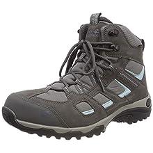 Jack Wolfskin Women's Vojo Hike 2 Texapore Mid W Wasserdicht High Rise Shoes, (Tarmac Grey 6011), 3.5 UK