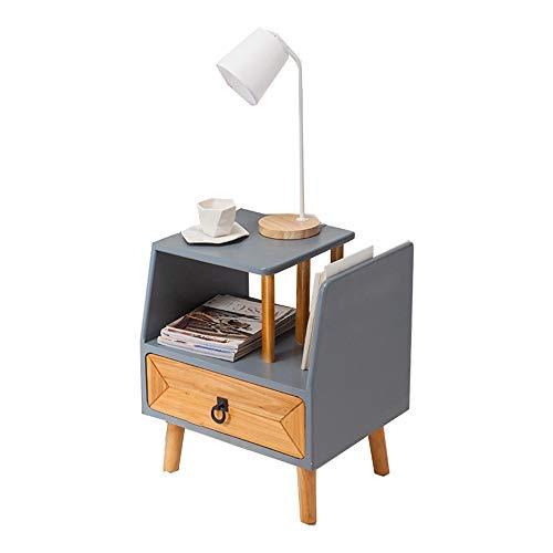 Zr tavolo da parete- comodino, armadio/armadietto in legno massello - tavolino/cassettiera soggiorno + contenitore -salva lo spazio (colore : sinistra)