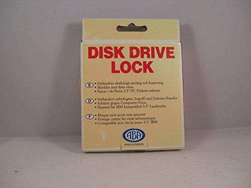 Diskettenschloss DISK DRIVE LOCK für 3 - 3
