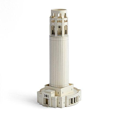 PaperLandmarks Coit Tower , Modello di Carta, Kit di Mestiere