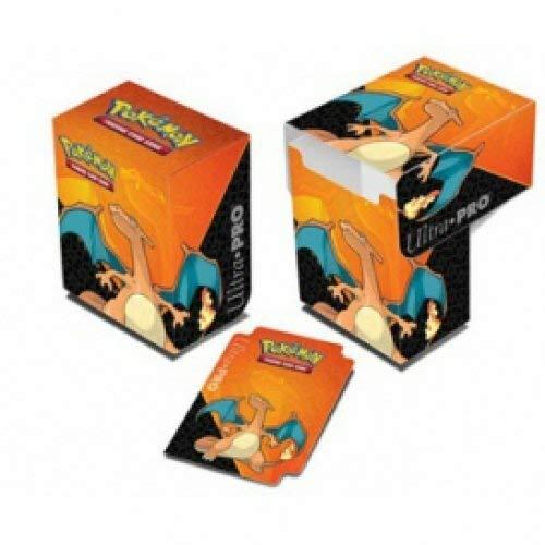 Lively Moments Pokemon Sammelkarten Deck Box Glurak / Charizard Card Case / Aufbewahrungsbox Spielkarten (Ultra Glurak)