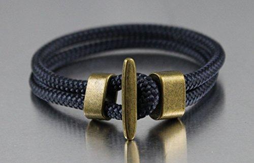 Armband Segeltau DK58 altgold maritim & sportlich by dünenkinder