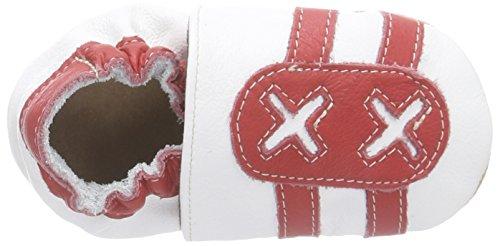 HOBEA-Germany Lauflernschuhe Turnschuh, rot weiß, 22/23 EU Weiß (weiß rot)