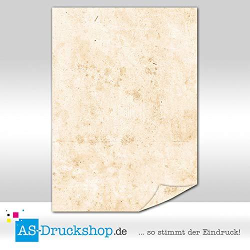 Papiro/pergamena-marrone struttura/100fogli di carta/din a5/90g di offset