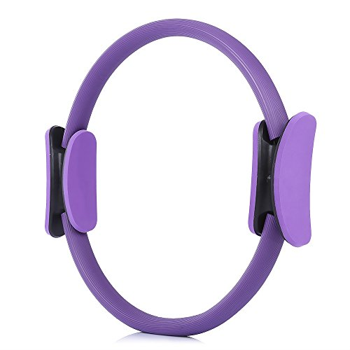 gic Ring Massage Zyklus Sport Fitness Zubehör(Color:LILA) ()