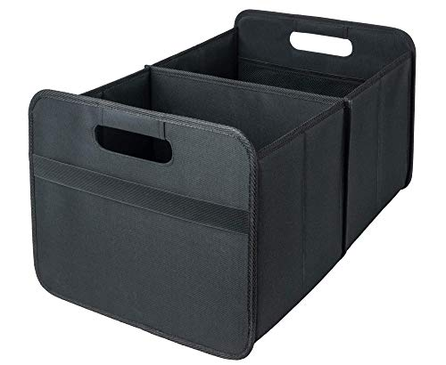 Systobox Faltboxen Aufbewahrungsboxen (Schwarz, 30 Liter)