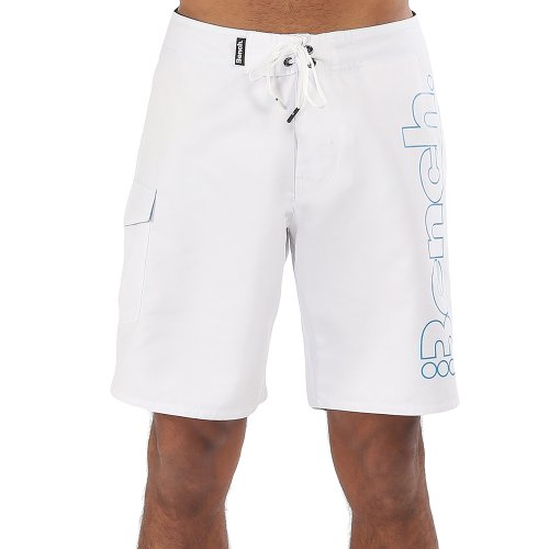 Bench Herren Badeshorts Boardshorts Danny weiß (Bright White) 36