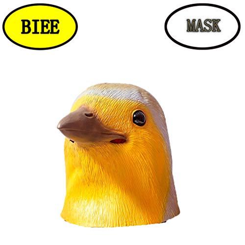 BIEE Halloween Maske Latex Tiermaske Kostüm - Fasching Karneval & Halloween - Kostüm Erwachsene...