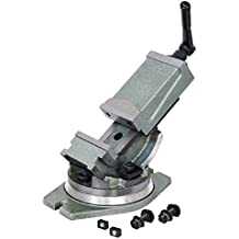 Banco a máquina inclinable con base giratoria 360° Fervi M530/100