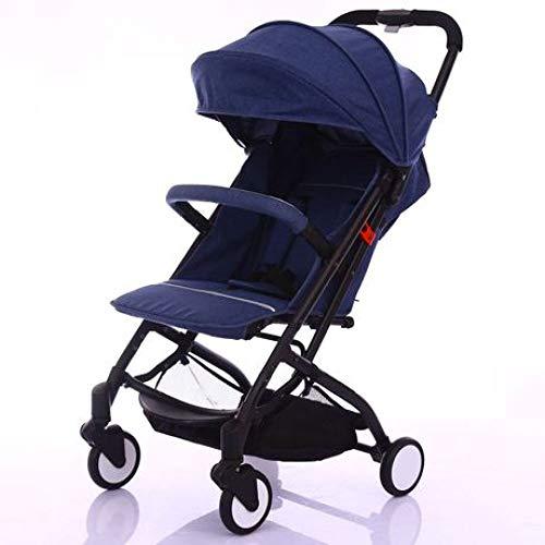 Rwdacfs Kinderwagen Tragbarer ultraleichter Regenschirm faltbar Geeignet für Babys von der Geburt bis 15 kg