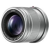Panasonic H-HS043E - lentilles et filtres d'appareil photo (Téléobjectif, MILC, 10/8, Micro Four Thirds, Lumix G, Argent)