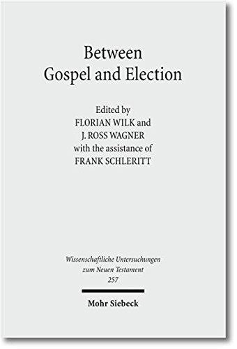Between Gospel and Election: Explorations in the Interpretation of Romans 9-11 (Wissenschaftliche Untersuchungen zum Neuen Testament, Band 257)