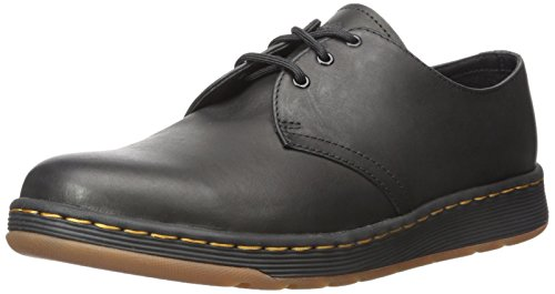 Dr. Martens Unisex Adults' Cavendish Derbys, Black (Black Temperley 001), 6 Uk 39 Eu