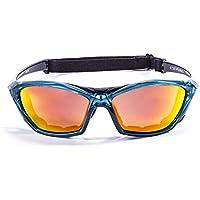 Ocean Sunglasses beach velvet - lunettes de soleil - Monture : Bleu Velours/Noir - Verres : Revo Bleu (V18202.99) WqvT5dv