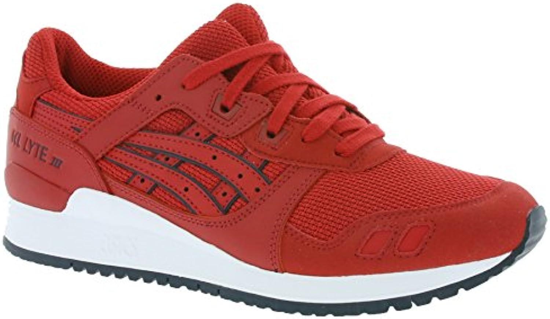 asics Gel Lyte III Schuhe Sneaker Turnschuhe Rot HN6A3 2525