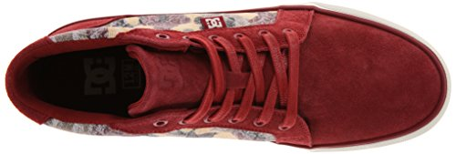DC - Homme - shoes - chaussures dc mens council maroon Marron
