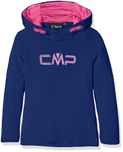 CMP felpa Sweat, Bambina, Sweat Pullover, Nautico, 128