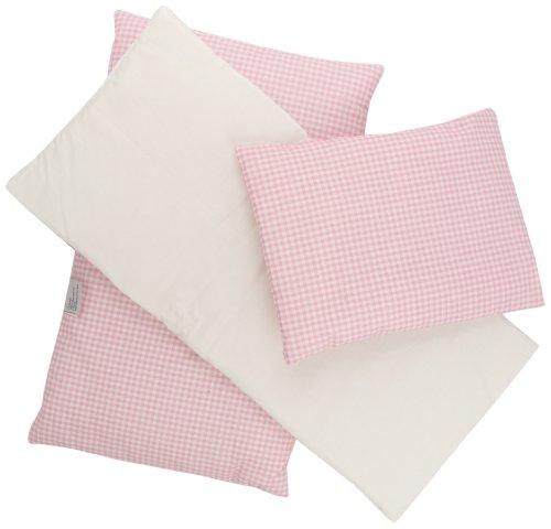 pinolino-28685-7-set-biancheria-da-letto-per-bambole-3-pezzi-vichy-karo-rosa
