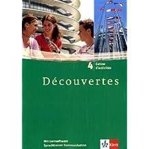 Découvertes/Cahier d'activités mit Sprachtrainer Kommunikation - Band 4
