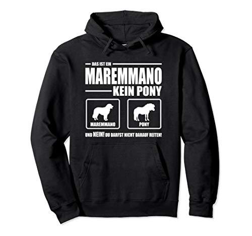Maremmano Abruzzese Kein Pony Hund Hundespruch Hunde Pullover Hoodie