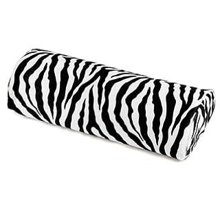 Zebra Stripe White&Black Cushion Pillow Nail Art Manicure Half Column Hand Rest