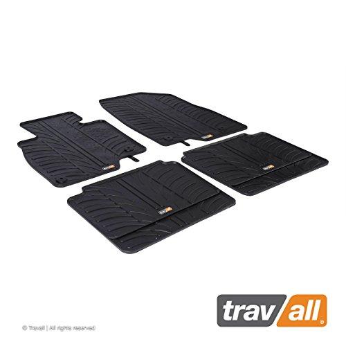 Travall Mats Gummifußmatten TRM1210 – Allwettermatten nach Maß Fussmatten Set (2014 6 Mazda Fußmatten)