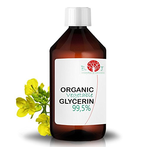 biOty garden Glicerina Vegetale Biologica 99% Cosmetica Casera Fai da Te DIY Sapone (500 ml)