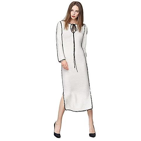 BestBang - Robe - Crayon - Femme - blanc - M