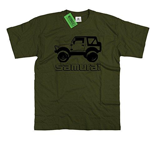 Original T-shirt Für Suzuki Samurai Fans Off Road 4x4 Geländewagen Gr Auto & Motorrad: Teile M-3xl