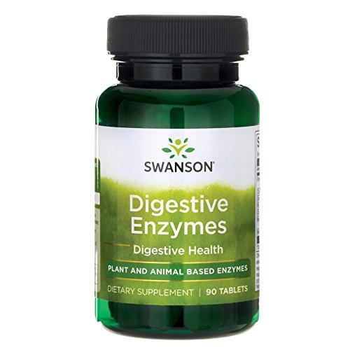 SWANSON Digestive Enzymes - 90 tablets -