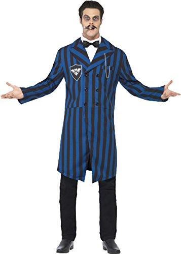 ncy Dress Halloween Party Duke of the Manor Kostüm Outfit, Blau ()