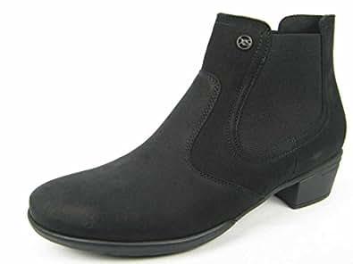 Hartjes  Xs City Boot 15372, Bottes Classics de hauteur moyenne, doublure chaude femme - noir - Schwarz, 37,5 EU