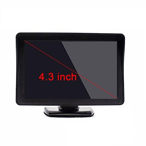 Dynavision 4.3 Zoll Digital TFT LCD Anzeige 2 Video-Eingang Rückfahrkamera Monitor Mini DVD VCR Auto Monitor mit Rückfahrkamera Unterstützung DVD VCD STB Satelliten Receiver andere Videogeräte Mini Vcr