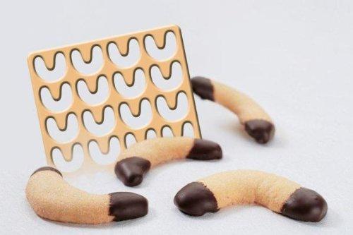G S D Haushaltsgeräte 32 102 Ausstechschablone für Vanillekipferl