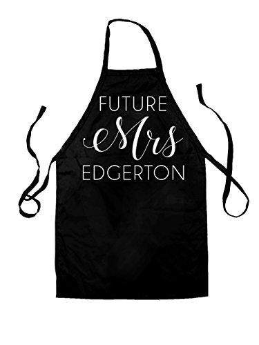 Future Mrs Edgerton - Unisex Adult Fit Apron - 5 Colours
