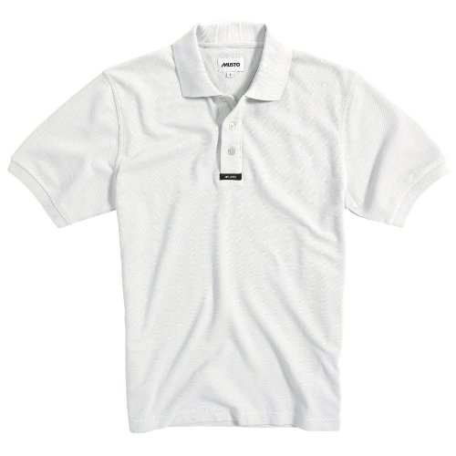 Preisvergleich Produktbild Musto Herren Polo Shirt Klassik Kurzarm (Medium) (Weiß)