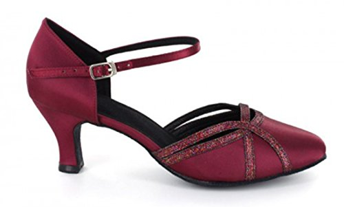 TDA - Ballroom donna 6cm Wine Red