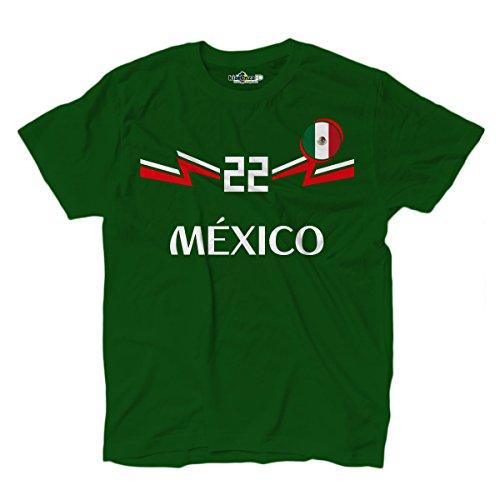 KiarenzaFD Camiseta Camiseta Fútbol Selección Lozano