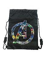 Marvel Trainer Bag Gym Tote, 44 cm, Black