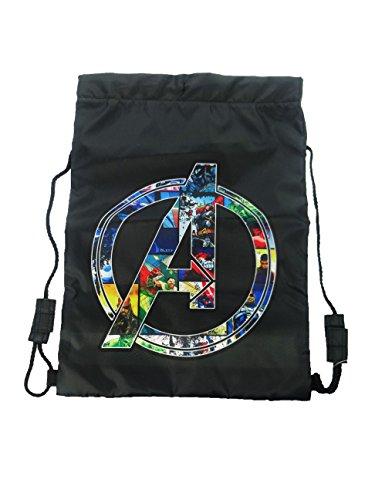 Marvel Trainer Bag Sporttasche, 44 cm, Schwarz (Black) (Sporttasche Marvel)