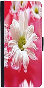 Snoogg Beautiful Flower In Nature Background Designer Protective Phone Flip Case Cover For Yu Yuphoria