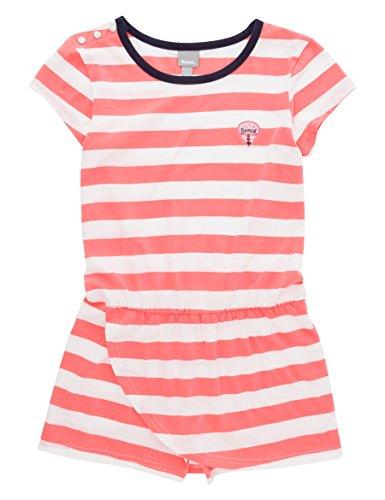 Bench Mädchen Stripey Skort Playsuit Kleid, Weiß (Snow White Wh11210), 176 (Herstellergröße: 15-16)