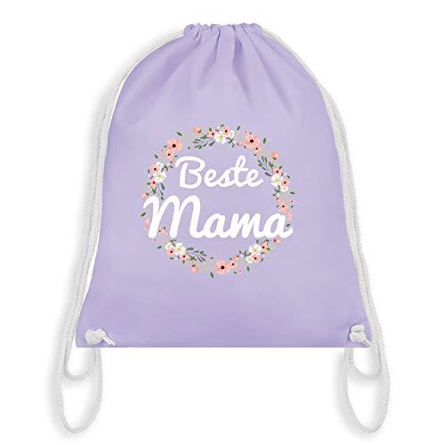 (Muttertag - Beste Mama - Unisize - Pastell Lila - WM110 - Turnbeutel & Gym Bag)